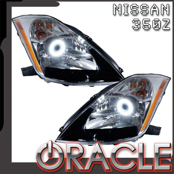 2003-2005 Nissan 350Z Pre-Assembled Headlights - HID Style