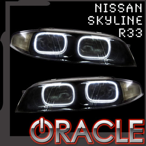 Nissan Skyline R33/GTR Zenki ORACLE Halo Kit