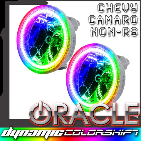 2010-2013 Chevrolet Camaro ORACLE Pre-Assembled Fog Lights - Non RS - Dynamic ColorSHIFT