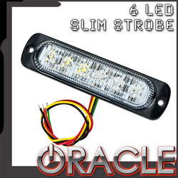 ORACLE 6 LED Slim Strobe Light- Flush Lighthead