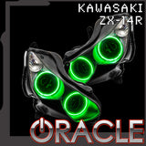 2007-2015 Kawasaki ZX-14R ORACLE Motorcycle Halo Kit