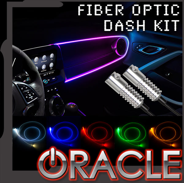 ORACLE Lighting LED ColorSHIFT® Fiber Optic Dash Kit