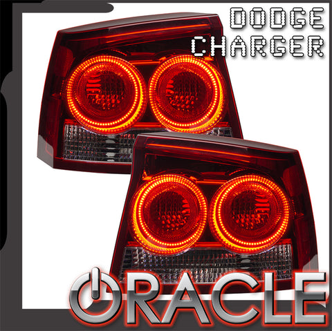 2009-2010 Dodge Charger Pre-Assembled Tail Lights