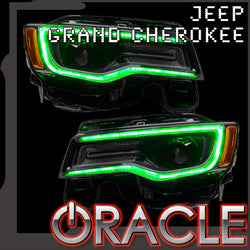 2014-2021 Jeep Grand Cherokee ORACLE Dynamic ColorSHIFT Headlight DRL Upgrade