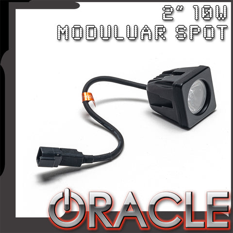 "ORACLE Off-Road 2"" 10W Modular Style Spot - CLEARANCE"