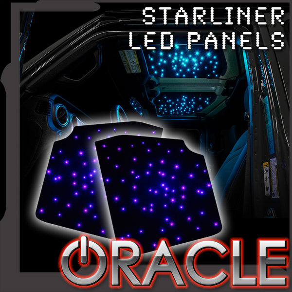 ORACLE Lighting StarLINER ColorSHIFT Fiber Optic Hardtop Headliner-Wrangler JL and Gladiator JT - Pre-Order