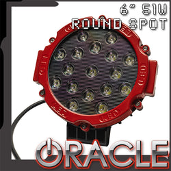 ORACLE 6'' 51W LED Round Spotlight - CLEARANCE