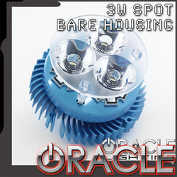 Off-Road 3W Spot Bare Blue Housing - CLEARANCE