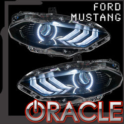 2018-2021 Ford Mustang ORACLE LED Headlight Halo Kit