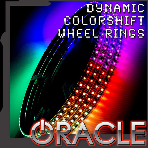 ORACLE LED Illuminated Wheel Rings - Dynamic ColorSHIFT