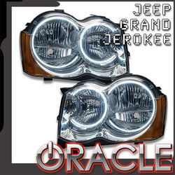 2008-2010 Jeep Grand Cherokee Pre-Assembled Headlights-Non HID