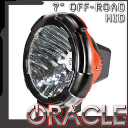"ORACLE Off-Road 7"" B08 HID Xenon Spot Light - CLEARANCE"