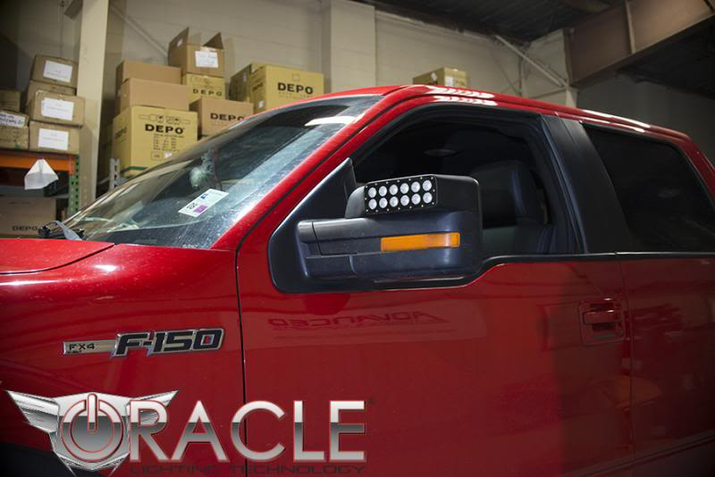 Oracle   Ford F Raptor Led Off Road Side Mirrors