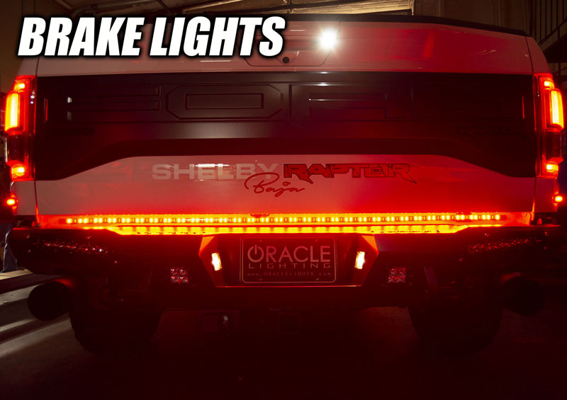 Oracle 60 double row led truck tailgate light bar oracle lighting oracle 60 double row led truck tailgate light bar aloadofball Image collections