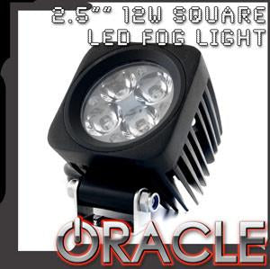 "ORACLE Off-Road 2.5"" 12W Square LED Fog Light"
