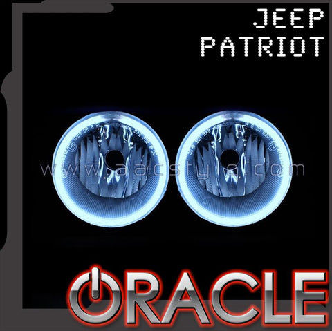 2007-2010 Jeep Patriot ORACLE Fog Light Halo Kit
