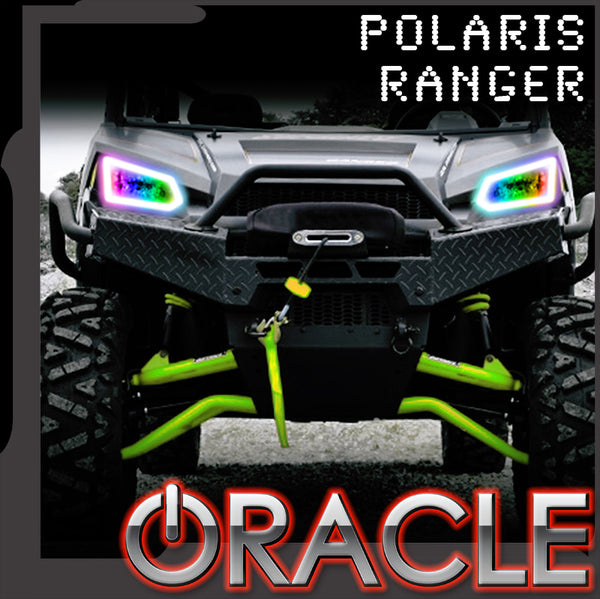 2014-2019 Polaris Ranger 570/900/1000 ORACLE Dynamic RGBW Headlight Halo Kit
