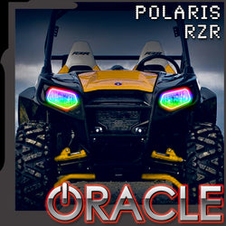 2008-2019 Polaris RZR 570/800/900 ORACLE Dynamic RGBW Headlight Halo Kit