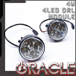 ORACLE 4x1W-4LED DRL - Daytime Running Lights (Pair)