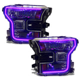 2015-2017 Ford F-150 ORACLE Dynamic ColorSHIFT Pre-Assembled Headlights - Halogen - PRE-ORDER