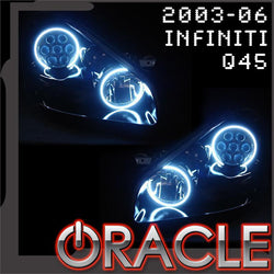 2003-2006 Infinit Q45 Sedan ORACLE Halo Kit