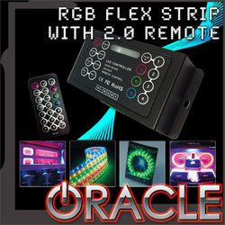 ORACLE 200'' RGB ColorSHIFT Flex Strip System w/ 2.0 Controller