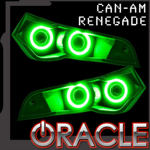 2007-2019 Can-Am Renegade ORACLE Headlight Halo Kit
