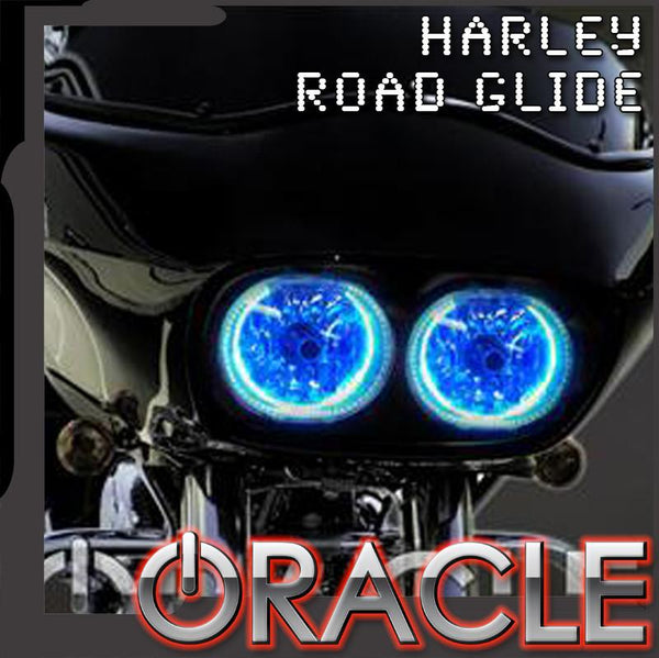 1999-2015 Harley Road Glide ORACLE Halo Kit