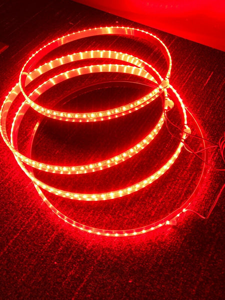 ORACLE FIRST GENERATION ILLUMINATED WHEEL RINGS RED 4215-003 - CLEARANCE