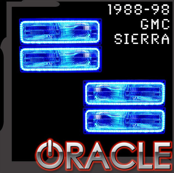 1988-1998 GMC Sierra ORACLE LED Dual Halo Kit