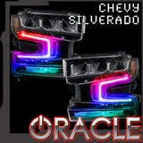 2019-2020 Chevy Silverado 1500 ORACLE ColorSHIFT RGB+W Headlight DRL Upgrade