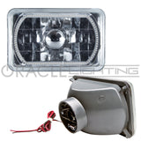 "ORACLE Pre-Installed 4x6"" H4651/H4656 Sealed Beam Halo - White SMD"