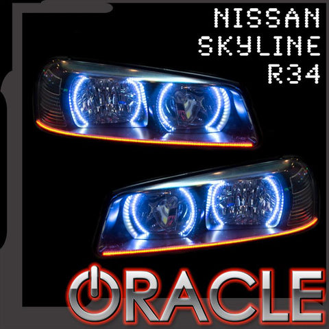 1998-2001 Nissan Skyline R34/GTR ORACLE Halo Kit