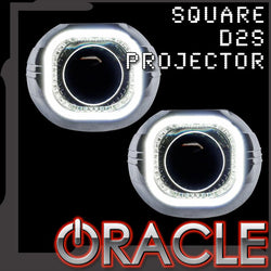 "ORACLE Square 2.75"" D2S Retrofit Projectors w/ Plasma Halo Kit"