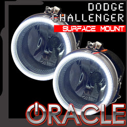 ORACLE Lighting 2008-2014 Dodge Challenger LED Fog Light Halo Kit - Surface Mount