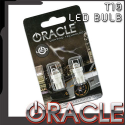 ORACLE T10 1 LED 1 Chip Wedge Bulbs (Pair)