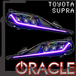 2020-2021 Toyota Supra GR ORACLE ColorSHIFT Headlight DRL Upgrade - PRE-ORDER