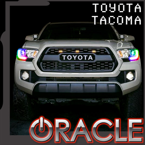 2016-2019 Toyota Tacoma ORACLE Dynamic ColorSHIFT RGBW Headlight DRL Kit