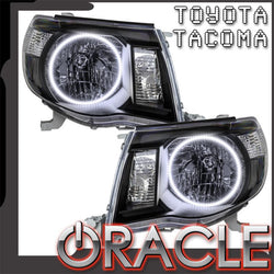 2005-2011 Toyota Tacoma Pre-Assembled Headlights-Black