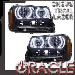 2002-2009 Chevrolet TrailBlazer Pre-Assembled Headlights