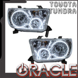 2007-2013 Toyota Tundra Pre-Assembled Headlights - Chrome