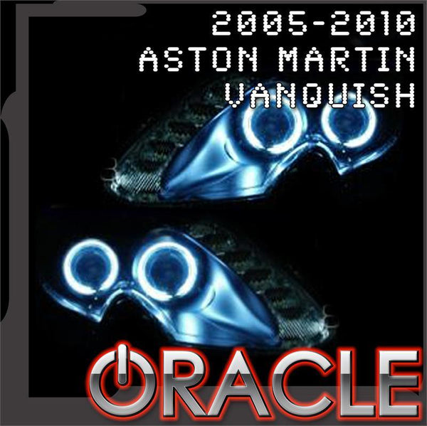 2005-2010 Aston Martin Vanquish ORACLE Headlight Halo Kit