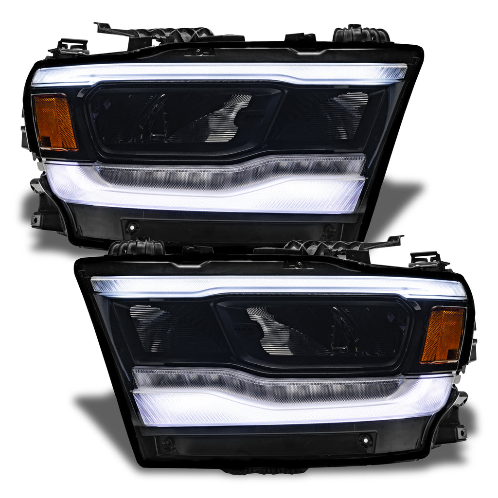 2019 2021 Ram 1500 Oracle Rgb W Headlight Drl Upgrade Kit Reflector Oracle Lighting