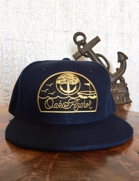 Oak&Anchor Snappy Time Captain Navy Golf Hat