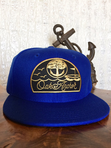 Oak&Anchor Snappy Time Captain Royal Golf Hat