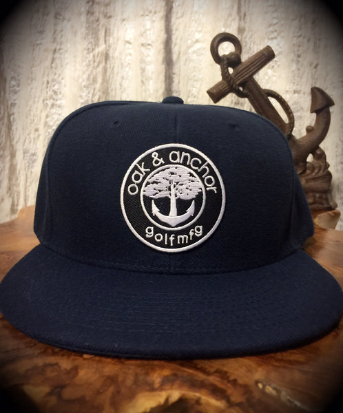 Oak&Anchor Snappy Time Navy Blue Golf Hat