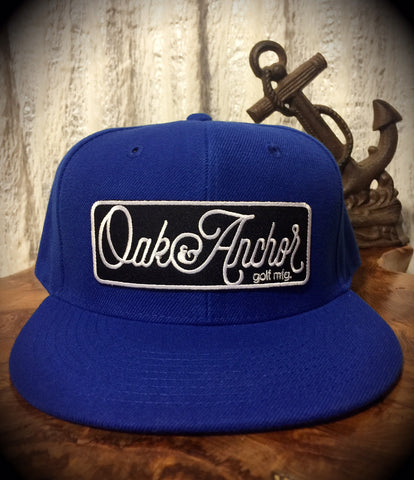 Oak&Anchor Snappy Time Royal Blue Big Bar Golf Hat