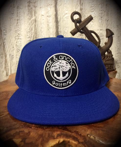 Oak&Anchor Snappy Time Royal Blue Golf Hat
