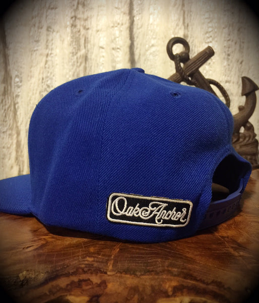 Oak&Anchor Snappy Time Royal Blue Roundy Golf Hat