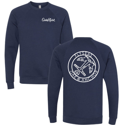 The FLYSEAS Crewneck Navy